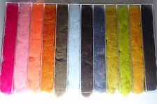 Fly Tying Superfine Dubbing Pack Box Of 12 Colours