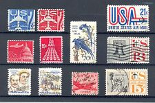 USA Airmail early selection, good used