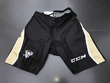 New! CCM Pittsburgh Penguins NHL Pro Stock Team Hockey Player Pants Shell Large