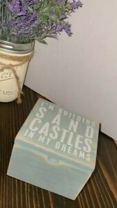 Primatives By Kathy Phillips, Hinged Box Building Sandcastles In My Dreams