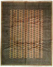 "Fine Silky 8x10 Bokhara Area Rug - ""Elephant Foot"""