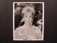Glossy Press Photo Marilyn Spivak founder of the National Head Injury Foundation