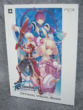AR TONELICO III 3 Official Visual Book Ltd Edit Art PS3 *