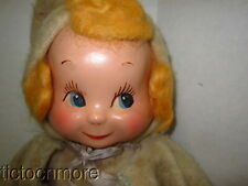 Vintage Original Doll Corp Trudy 3 Faced Composition Face Baby Doll 1940s