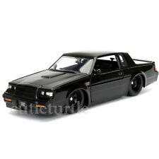 Jada Fast & Furious Dom's Buick Grand National 1:24 Diecast Model 99539 Black