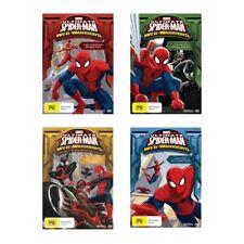 Ultimate Spider-Man Web Warriors (Complete Season 3) DVD Region 4 (vol 1 2 3 4)