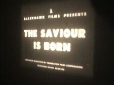 8mm Movie The Saviour is Born 400' Jesus Christmas Blackhawk Film