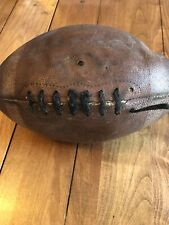 Vintage Football Spalding Retro Collectible Leather Sports