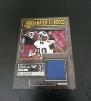 2003 Isacc Bruce Playoff Hog Heaven Material Hoggs Jersey Card 08/ 25