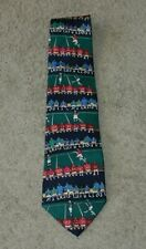 Scrimmage Alynn Neckwear Novelty Football Themed Made in US Silk Tie