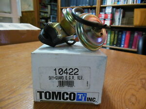 NOS Tomco 10422 SKY-Guard EGR Valve Fits Many 80's Ford Applications