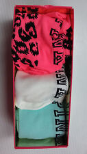 Victoria's Secret Pink Knee High Socks Set of 3 Pink White Blue