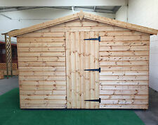 Garden shed 11 x 10 19mm cladding Apex roof *FREE INSTALLATION*