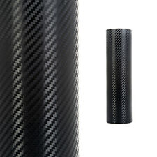 Carbon Fibre Vinyl 3D Black Car Vehicle Wrap Film Bubble Air Free 1520mm x 300mm