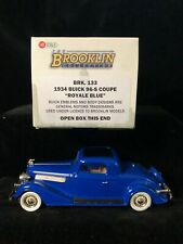 Boxed BROOKLIN Lansdowne BK133 BUICK 1934 96-S Coupe Car Blue Diecast Model 1/43
