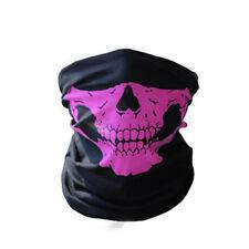 Skull Bandana Mask Tube Scarf Skeleton Motorcycle Headband Ski Face Neck Jaw