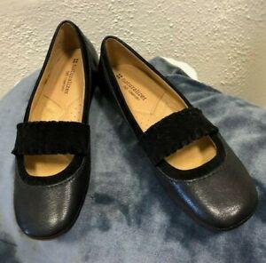 NEW Naturalizer Fancy Black Mary Jane Shoes Women's size 7.5 NARROW Cantara
