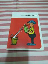 ANDY CAPP quaderno Vintage-ICCI 1973-notebook School