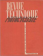 revue technique motocycliste, juillet-aout 1948 / la douglas 350 cmc