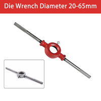 20 - 65mm Detachable Steel Cutter Handle Dia Round Die Stock Wrench For M3 - M36