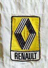 F1 Formula One Mechanics Pit Crew Shirt Vintage 1981 RENAULT ELF Rene Arnoux