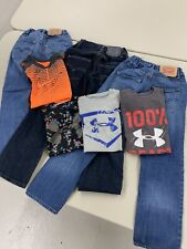 Youth Boys Clothes Size 8 Lot of 7 pc Under Armor, Levi's and  Nike