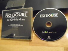 RARE PROMO No Doubt CD single Ex-Girlfriend GWEN STEFANI Return Of Saturn ska !