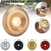 Grinding Wheel 100mm Angle Grinder Carbide Wood Sanding Carving Shaping Disc