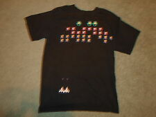 Vintage Galaga Arcade Video Game T-Shirt Youth Size Large VERY RARE