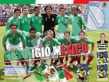 Poster Mexico Gold Cup 2009 Champion.  Giants Stadium