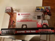 Deadpool Die Cast Metal Taco Truck