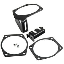 Black Throttle Body Cable Bracket For Ls1 Ls2 Ls3 92mm To 102mm Drive By Cable