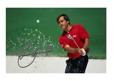 More details for seve ballesteros a4 reproduction autograph poster. choice of frame