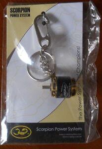 Scorpion Brushless Motor Keychain Keyring