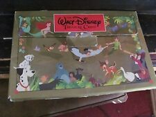 Walt Disney's Treasure Chest lot of 5 over sized books with case