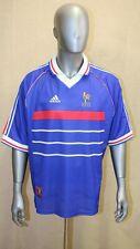 Maillot équipe de France coupe du monde 98 domicile Adidas taille XL made in UK