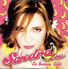 ★☆★ CD SINGLE Sandra LOU - LIOLe banana split 2-track CARD SLEEVE NEUF     ★☆★