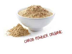 BULK 1 KG Organic Carob Powder  - Vacuum Packed - Free Postage