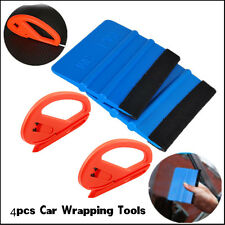 Snitty Safety Vinyl Cutter & 3M Felt Edge Squeegee 4pcs Car Wrapping Tools Kit