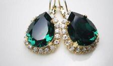 Pendientes  Elegance Emerald  Swarovski