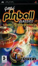 GOTTLIEB PINBALL CLASSICS                   -----   pour PSP