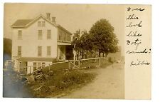 Middletown NY - EARLY COUNTRY FARM HOUSE - RPPC Postcard