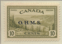 Canada Stamp Scott #O6, Mint Lightly Hinged