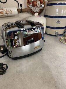 "Vintage Sunbeam Radiant Automatic Control Toaster T-35 Art Deco ""Needs Repair"""