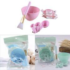 Pink DIY Facial Face Mask Tool Set Mixing Bowl Brush Spatulas Spoon Stick Beauty