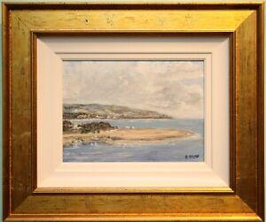 Original Irish Art Oil Painting CUSHENDALL, CO. ANTRIM, N. IRELAND by E BRYCE