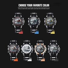 WEIDE Quartz Digital Men Watch Date Week Month Alarm Stopwatch Male Wristwatches