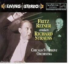 Fritz Reiner Conducts Richard Strauss / Chicago Symphony - CD Rca Living Stereo