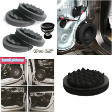 "Universal 6.5"" Car Door Speaker Insulation Ring Woofer Foam Wave Pad Sound Noise"