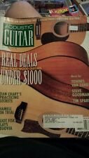 ACOUSTIC GUITAR MAGAZINE MAY 1997 ELIOT FISK DAN CRARY TIM SPARKS free usa ship